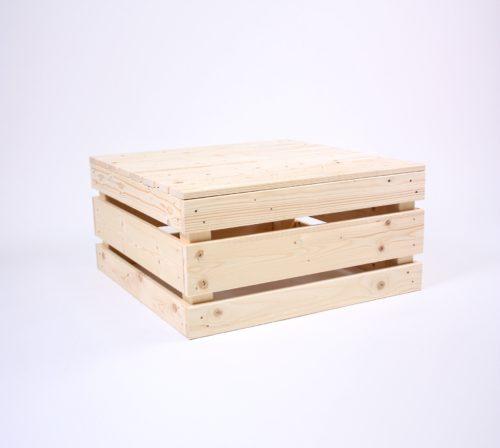 Paletten-Tisch 2.0 quadrat