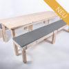 Sitzgarnitur KOMFORT - 240 cm Tischlänge - für 12 Personen - NEU