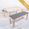 Sitzgarnitur KOMFORT - Tischlänge 120 cm - 4 Personen - NEU