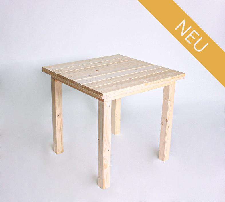 Sitztisch KOMFORT - Tischlänge 80 cm - NEU