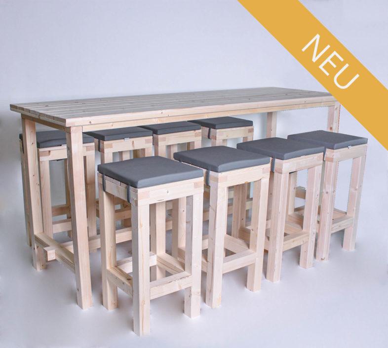 Stehgarnitur KOMFORT - 240 cm Tischlänge - für 8 Personen - NEU