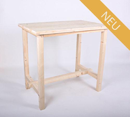 Stehtisch KOMFORT - Tischlänge 120 cm - NEU