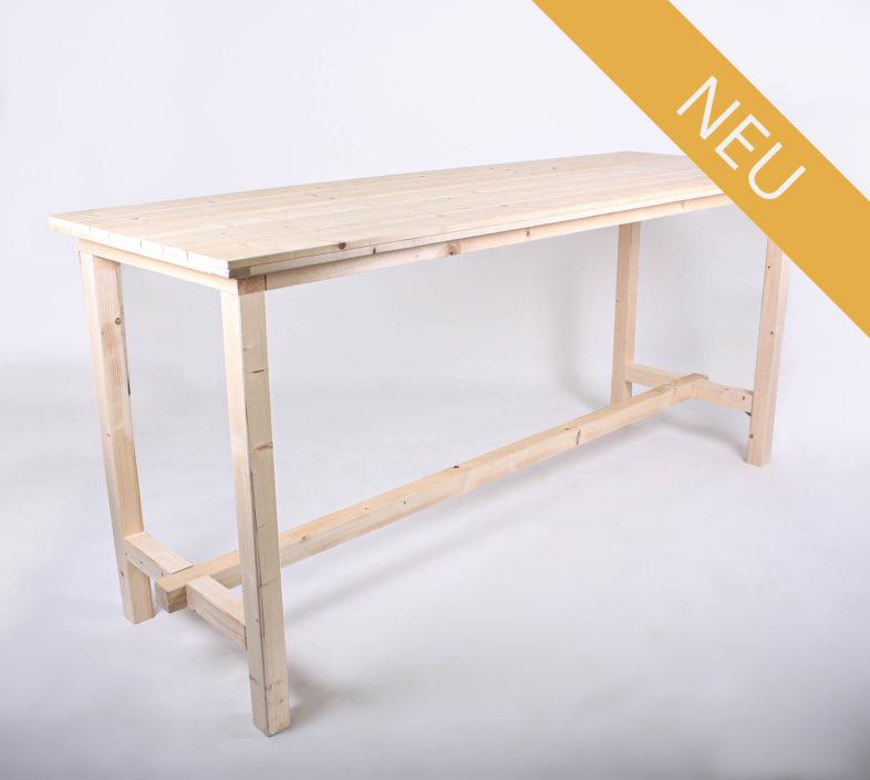 Stehtisch KOMFORT - Tischlänge 240 cm - NEU