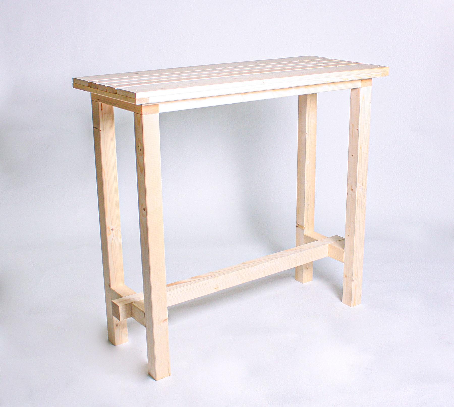 Stehgarnitur KOMPAKT 6 Personen Tisch 120 cm