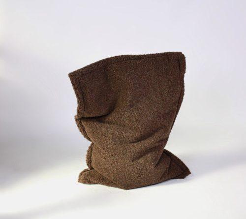 Kinder-Sitzsack Wooly - Dunkel - 120x90 cm