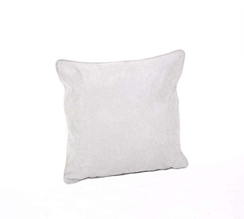 Dekokissen Royal Suede - 50x50cm - Light Grey