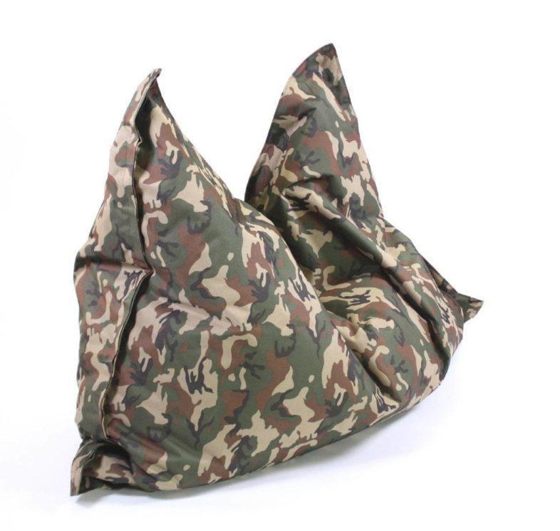 Sitzsack Indoor Camouflage - 180x140 - Frontal 5